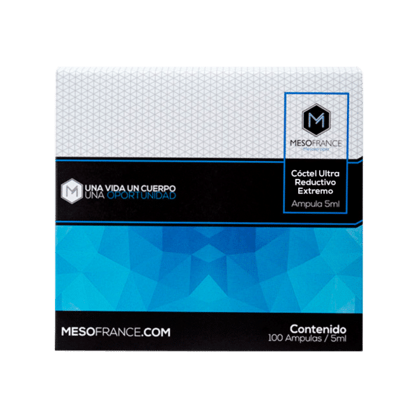 Coctel Ultra Reductivo Extremo Mesofrance Beauter Cosmetic
